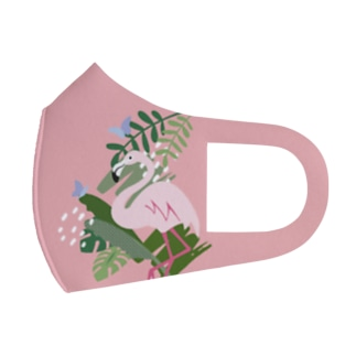 ジャングル(PINK) Full Graphic Mask