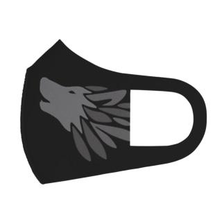 オオカミマスク Full Graphic Mask