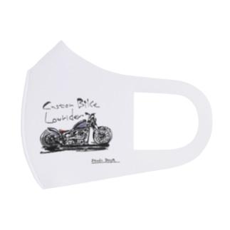 カスタムバイク Full Graphic Mask