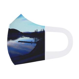 くまちゃんが撮影した風景マスク Full Graphic Mask