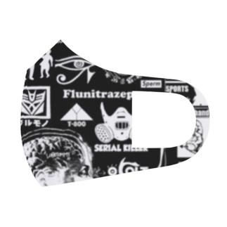 シリアルキラー  グラフィック マスク Full Graphic Mask