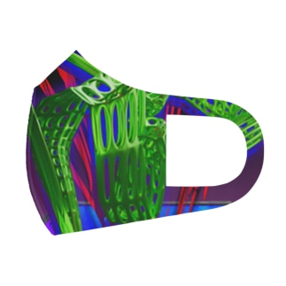 Channel Full Graphic Mask