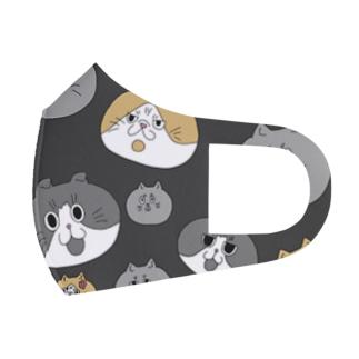 マスク黒 Full Graphic Mask