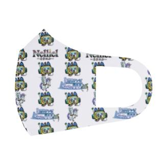 Royal_teaのぬまてれ×ネリエルマスク Full Graphic Mask