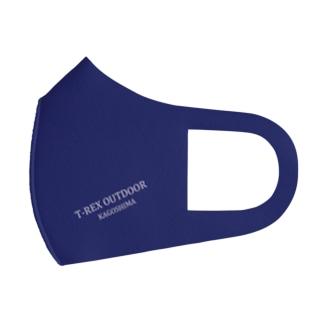 T-REX OUTDOOR ネイビー Full Graphic Mask