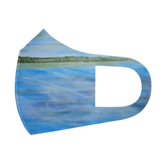 NZの銀龍 Full Graphic Mask