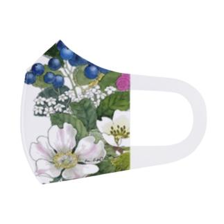 シャーロットの花園 B Full Graphic Mask