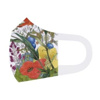 シャーロットの花園 C Full Graphic Mask