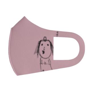 クレオパトラ(濃いくすみピンク)12mini Full Graphic Mask