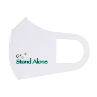 StandAlone社 オリジナルロゴver.1 Full Graphic Mask