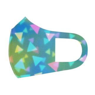 三角△トライアングル△triangle Full Graphic Mask