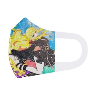 夢の中の君マスク Full Graphic Mask