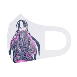 (うちの子)バカップルマスク Full Graphic Mask