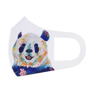 パンダさんとカワウソさんマスク Full Graphic Mask