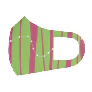 line Full Graphic Mask