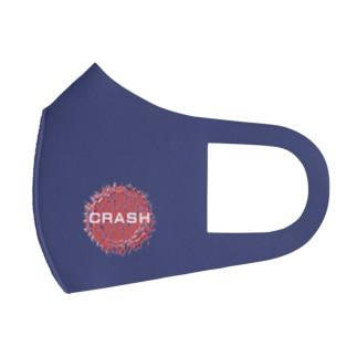 マスク CRASHブルー+グレイ Full Graphic Mask