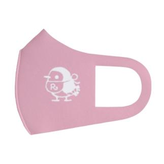リルフィ モノクロ ピンク Full Graphic Mask