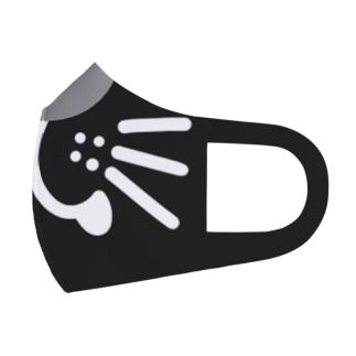 クロネコになりたいマスク Full Graphic Mask