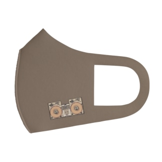 United Sweet Soul MerchのDJ Booth -Brown- Full Graphic Mask