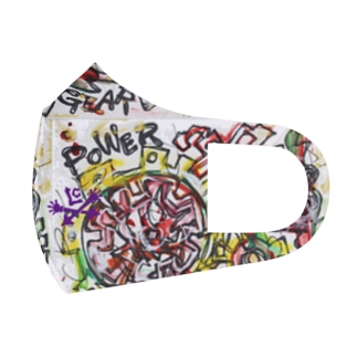ART MASKでPower UP/DYNAMIC POWER GEAR Full Graphic Mask