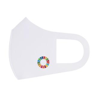 SDGs Round Full Graphic Mask