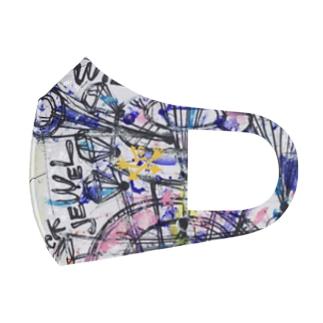 ART MASKでPower UP/BEAUTY POINT STAR Full Graphic Mask