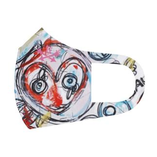 ART MASKでPower UP/MABUTANOMUKOUGAWA Full Graphic Mask