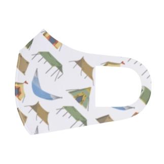 キャンプ道具マスク Full Graphic Mask