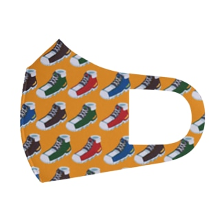 sneakers Full Graphic Mask