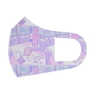 ゲームセンター柄 Full Graphic Mask