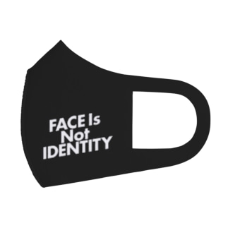FACE is Not IDENTITY Full Graphic Mask