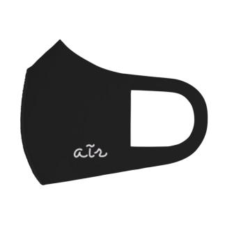 air's dark side Full Graphic Mask