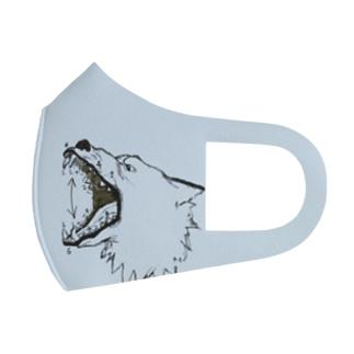 狼マスク3 Full Graphic Mask