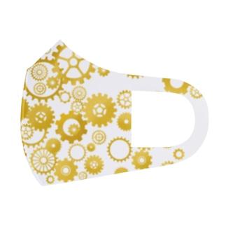 ハグルマスク Full Graphic Mask
