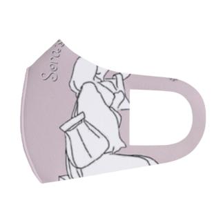 「英語ペラになるかもしれない」✽.。.:*・゚ ✽.。.:*・゚ ✽.。.:*・゚ ✽.。.:*・゚ ✽.。.:*・゚  Full Graphic Mask