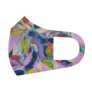 flowers Full Graphic Mask