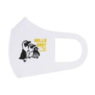 ファミリーペンギン Full Graphic Mask
