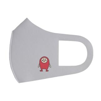 だるまるまん(Lサイズ) Full Graphic Mask