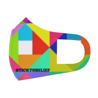 ⚙️歯車マスク⚙️ Full Graphic Mask