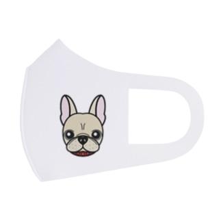 フレンチブルドッグ Full Graphic Mask