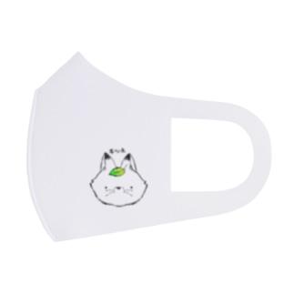 キツネマスク ホワイト Full Graphic Mask