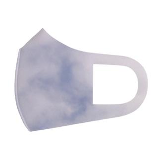 3に見える雲 Full Graphic Mask