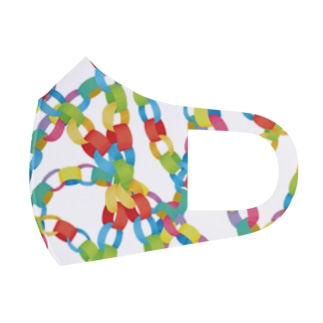 paper chain Full Graphic Mask