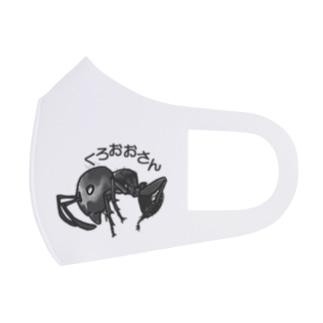 ANT☆Diaryのくろおおさん Full Graphic Mask
