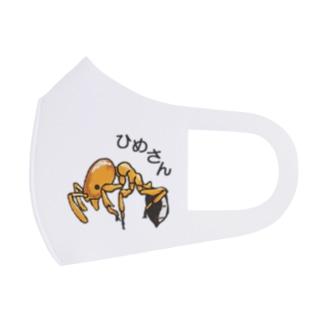 ひめさん Full Graphic Mask
