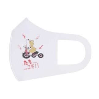 たちコギ(ぺんぶろーく)【コーギー、犬】 Full Graphic Mask