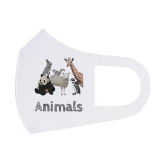 動物園が好きな人へ「アニマルズ」 Full Graphic Mask