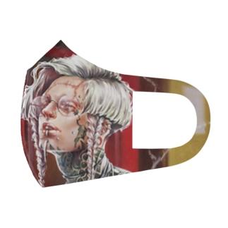 武&太 Full Graphic Mask