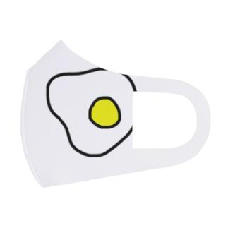 Egg Full Graphic Mask