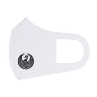 森蘭丸【森鶴の丸】 Full Graphic Mask